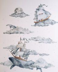 Wieloryb i statki