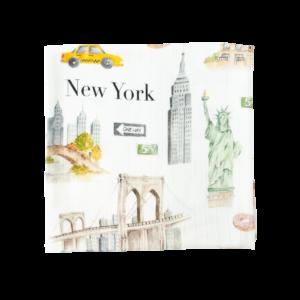Otulacz Bambusowy Nowy York